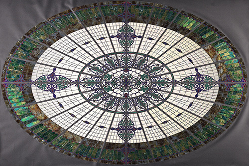 Jane Bergman's glass dome replica