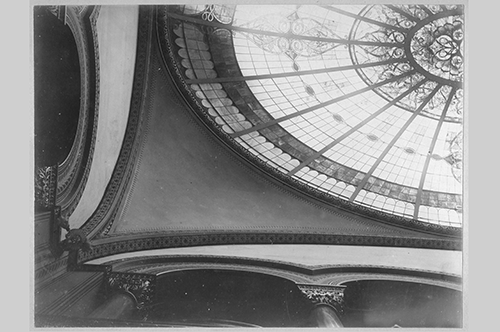 Historical image of glass dome