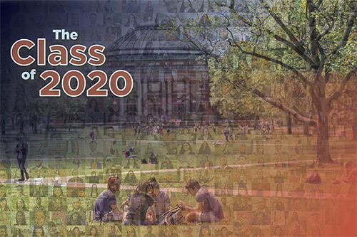 Class of 2020 photo collage