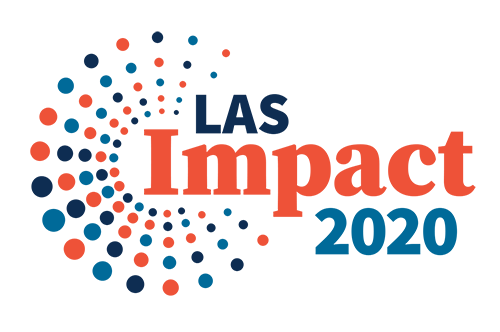 "A graphic that reads ""LAS Impact 2020"""