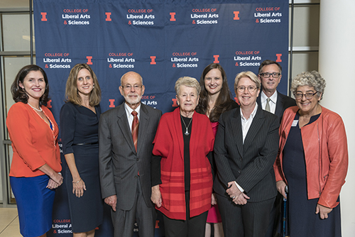 Winners of the College of LAS' 2018 alumni awards