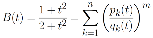 The Champaign Problem, a famous mathematical formula for which Reznick was able to create a partial solution for.