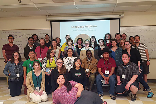 Language revitalization workshop