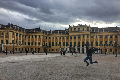Mariah McNamer studied abroad in Vienna