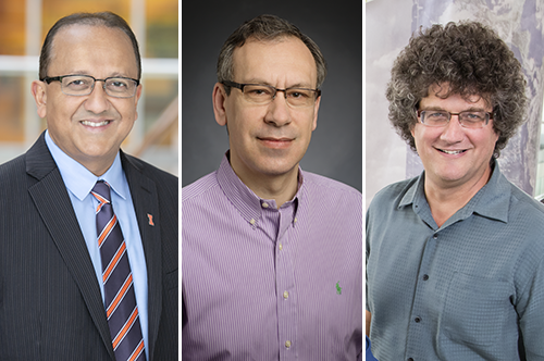 Rashid Bashir, Yurii Vlasov, and Jonathan Sweedler have received $3 million from NIH to develop a neural probe.