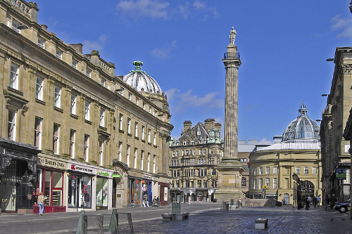 Grey's Monument in Newcastle