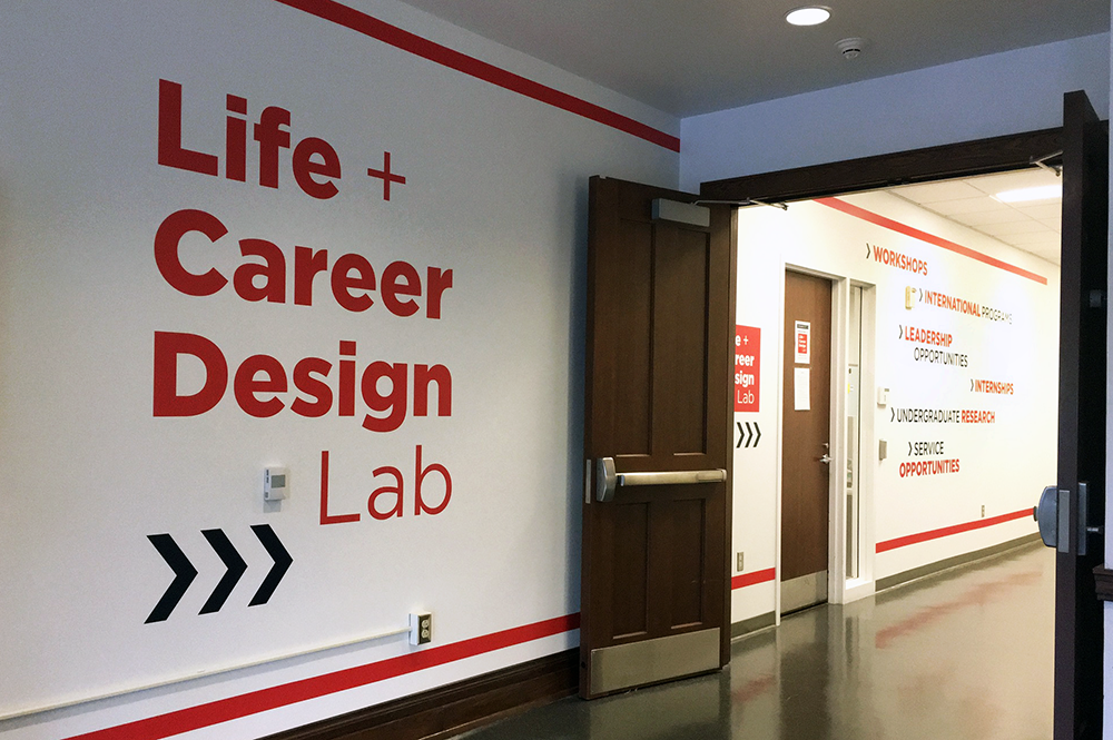 The Life + Career Design Lab, located at 2040 Lincoln Hall, is scheduled to open on Monday, Oct. 2.