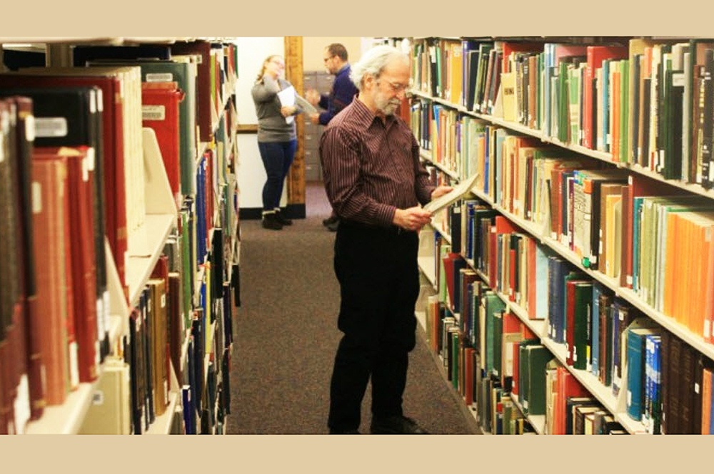 Larry Miller, professor emeritus of library administration and retired bibliographer of Russian, East European, and Eurasian Studies collections and services at Illinois, was instrumental in the creation of U of I's collections in this area of study.