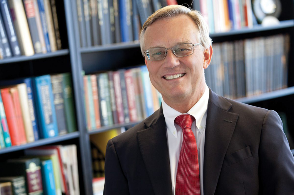 John Anderson has been nominated to be next National Academy of Engineering president (Image courtesy of the Department of Chemical and Biomolecular Engineering.)