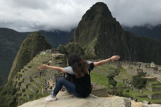 Cynthia studied abroad in Peru.