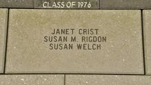 Janet Crist, Susan Rigdon and Susan Welch