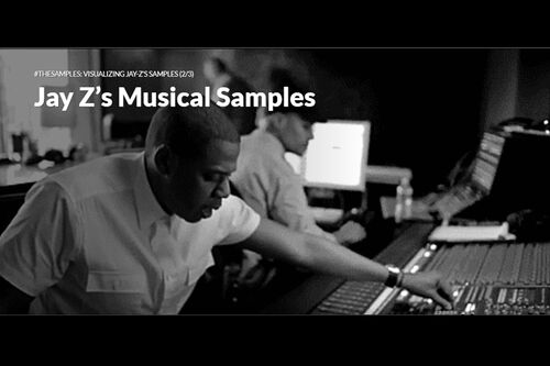 Jay-Z creating music