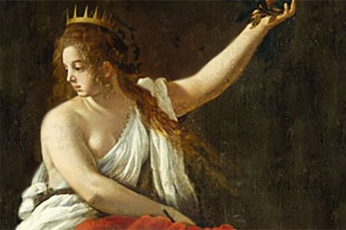 Calliope, the muse of epic poetry