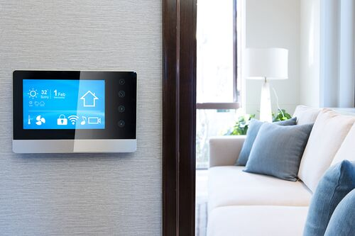 Smart home stock image