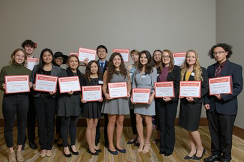 Scholarship celebration honors students and donors