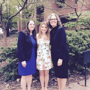 Amanda Purnell, Emily Forbes, Dr. Kirsten Bartels